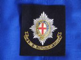 COLDSTREAM GUARDS 1st & 2nd BATTALIONS BLAZER BADGE